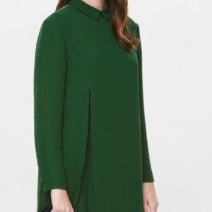Size 2 COS kelly green dress